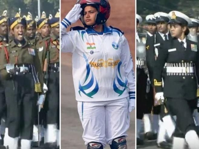 પ્રજાસત્તાક દિન 2019:  વિશ્વએ જોઈ ભારતની સ્ત્રી શક્તિ
