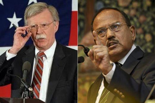 """અમેરિકાના એનએસએની ભારતના એનએસએ ડોભાલ સાથે વાતચીત:  """"ભારતને પોતાની સુરક્ષાનો સંપૂર્ણ અધિકાર"""""""