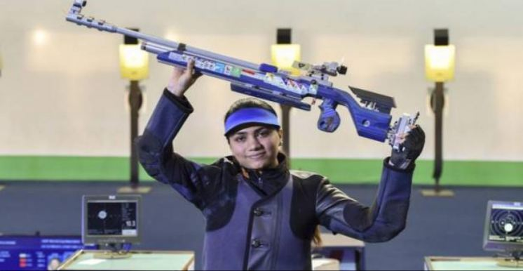 ISSF વિશ્વકપ: વર્લ્ડ રેકોર્ડની સાથે અપૂર્વી ચંદેલાએ ગોલ્ડ મેડલ જીત્યો