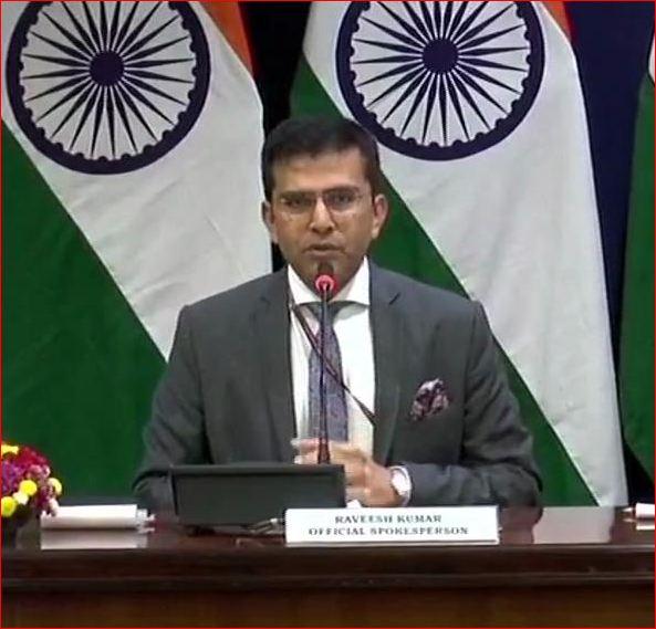 પાકિસ્તાને ભારતના સૈન્ય ઠેકાણાઓને નિશાન બનાવવાની કોશિશ કરી: ભારતીય વિદેશ મંત્રાલય