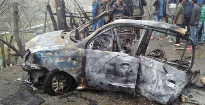 જમ્મુ-કાશ્મીરના બનિહાલ ટનલની પાસે કારમાં વિસ્ફોટ થયો, નજીકથી પસાર થતો હતો સીઆરપીએફનો કાફલો