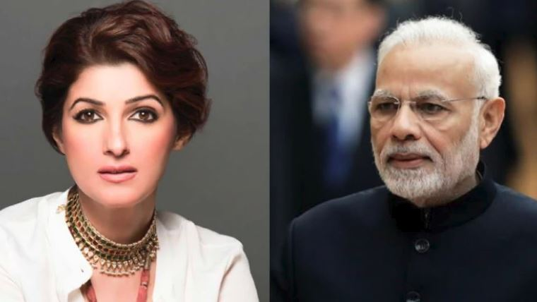 'બધો ગુસ્સો'વાળી મોદીની કોમેન્ટનો ટ્વિંકલ ખન્નાએ આપ્યો જવાબ, કહ્યું- ખુશી છે PM મારા લખાણને વાંચે છે