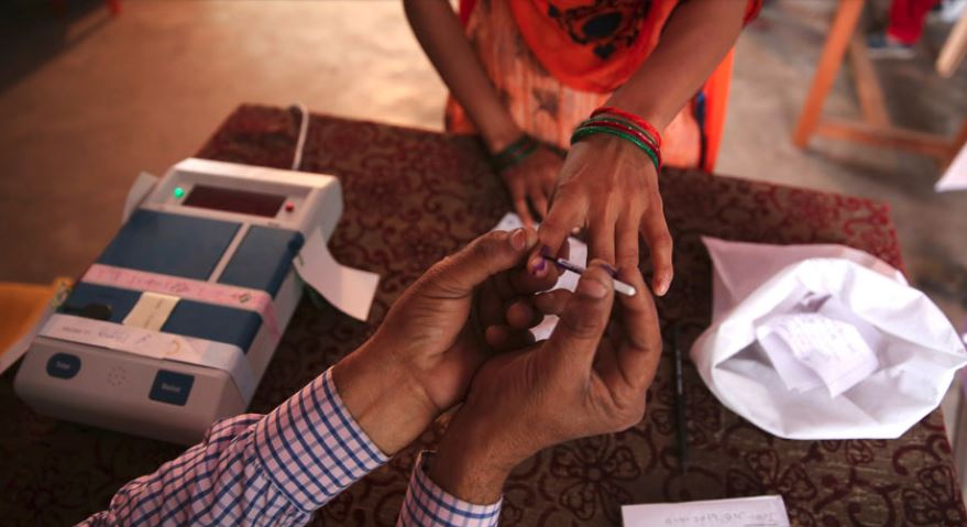 TMC workers 'Perfumed' the EVM buttons and smelled fingers of voters!