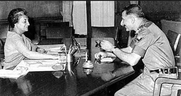 નૈતિક સાહસ : જ્યારે ફીલ્ડ માર્શલ સૈમ માનેકશૉએ ઈન્દિરા ગાંધીને પુછયું, શું તમે બાઈબલ વાંચ્યું છે!