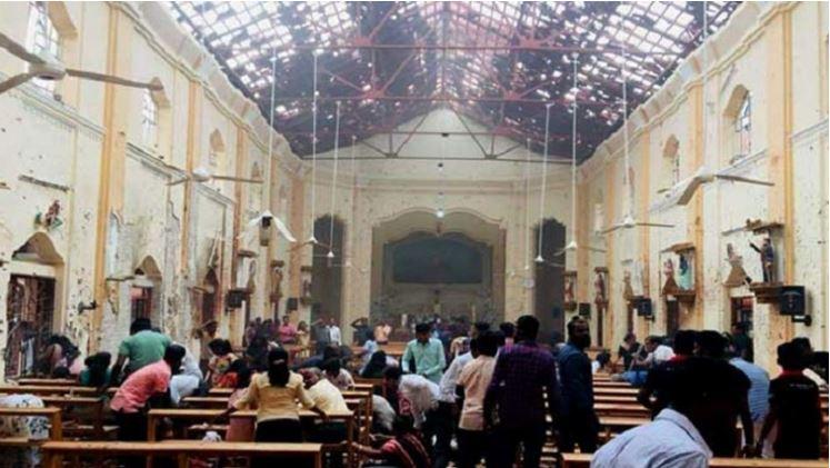 શ્રીલંકામાં ઈસ્ટરના પ્રસંગે 3 ચર્ચો, 3 હોટલોમાં વિસ્ફોટ, 160થી વધુના મોત, 450થી વધુ ઈજાગ્રસ્ત