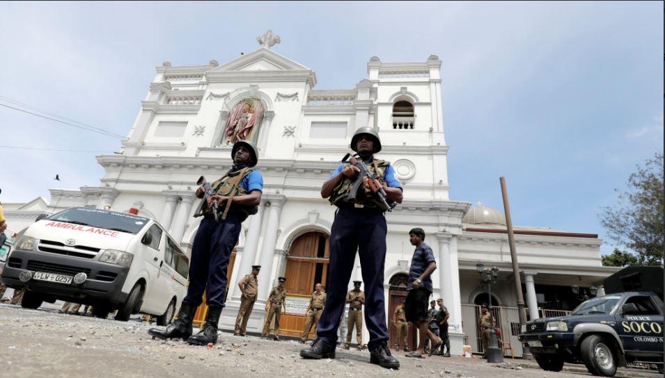 શ્રીલંકા: કોલંબોના ચર્ચમાં વિસ્ફોટ, જુઓ લાઈવ VIDEO