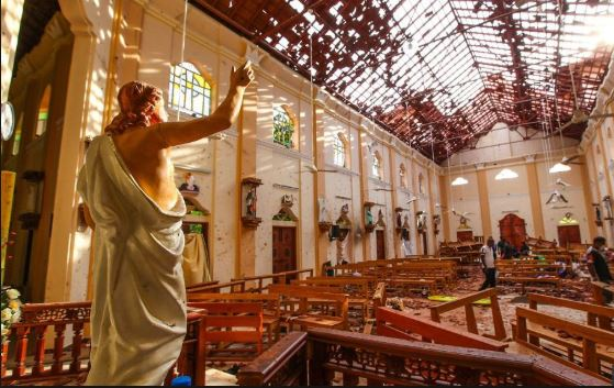 ISISએ લીધી શ્રીલંકાના શ્રેણીબદ્ધ વિસ્ફોટોની જવાબદારી, અત્યાર સુધી 310 લોકોના મોત