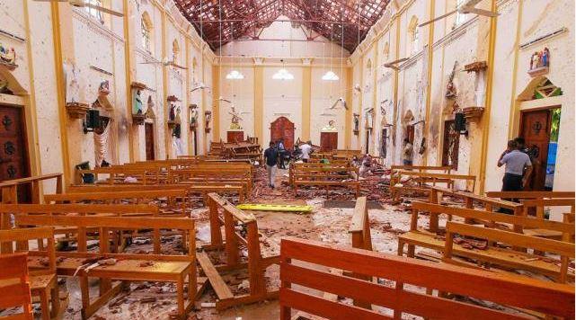 શ્રીલંકામાં આઠ વિસ્ફોટો કરનારા નવ ફિદાઈનમાં એક મહિલા, મૃતકોની સંખ્યા 359 પર પહોંચી