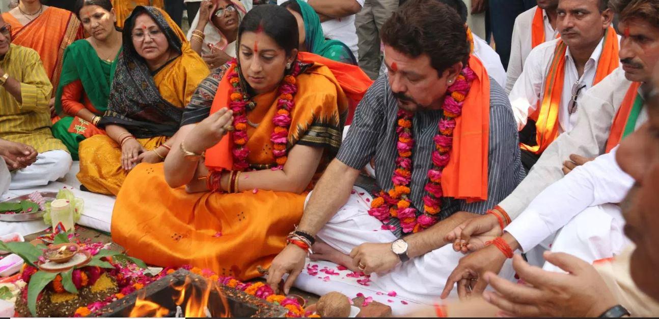 અમેઠીમાં સ્મૃતિ ઈરાનીની જીત: રાહુલ ગાંધીના આંગણામાં આમ જ નથી ઉગી નીકળી 'તુલસી'