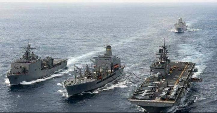 ચીન સાથે ટ્રેડવોર વચ્ચે અમેરિકાએ સાઉથ ચાઈના સીમાં ઉતાર્યા જંગી યુદ્ધજહાજ