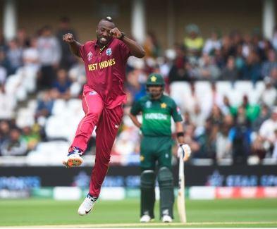 ક્રિકેટ વર્લ્ડકપઃ વેસ્ટ ઈન્ડિઝની પાકિસ્તાન સામે 7 વિકેટે જીત