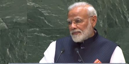 UNGA Speech: PM મોદીએ કહ્યું – અમે દુનિયાને યુદ્વ નહીં, બુદ્વ આપ્યા, આતંક સામે એક થાય દુનિયા