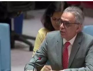 UNSCની બેઠકમાં ભારતનું પ્રતિનિઘિત્વ કરી રહેલા અકબરુદ્દીનએ પાકિસ્તાનને આડે હાથ લીઘુ- પાકની બોલતી કરી બંઘ