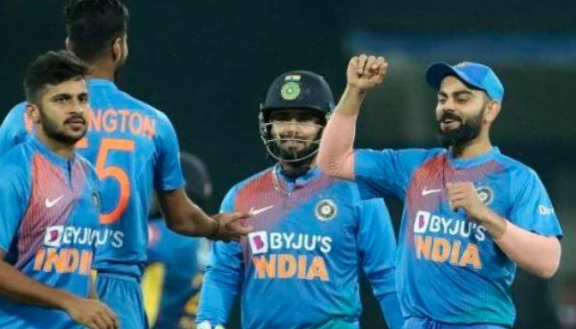 ભારતે શ્રીલંકાને T-20 ક્રિકેટ મેચમાં 7 વિકેટે આપી હાર