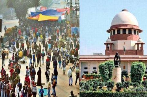 શાહીનબાગ કેસઃ- SCએ કહ્યું 'સાર્વજનિક રસ્તાઓ પ્રદર્શન માટે નથી'- હાલની સ્થિતિ જોતા સુનાવણી ટાળવામાં આવી