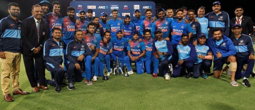 વિદેશની ધરતી પર ભારતીય ટીમનો ડંકો: ટી20 સિરીઝમાં ભારતે ન્યૂઝીલેન્ડનો 5-0થી વ્હાઇટવોશ કર્યો