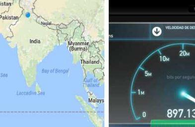 ઈન્ટરનેટ સ્પીડમાં ભારત વિશ્વની સૌથી ઝડપી રેન્કિંગ સાબિત થયું