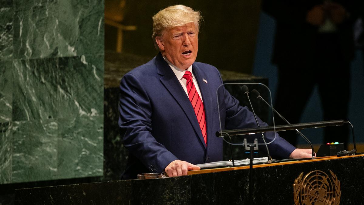 Trump@UN: Hold China accountable for Covid-19
