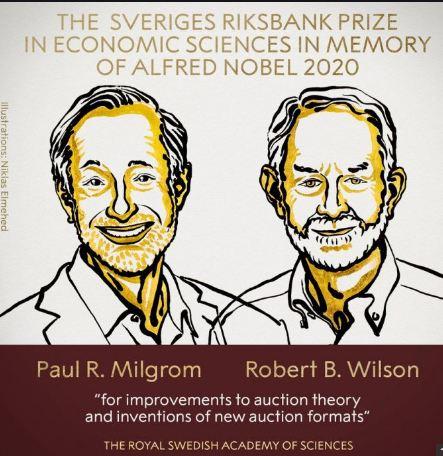 Nobel in Economics: Americans Milgrom, Wilson to get 2020 Prize