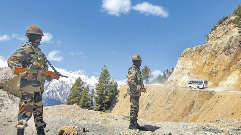 """""""Missing"""" Chinese Soldier Apprehended on the Indian Side"""