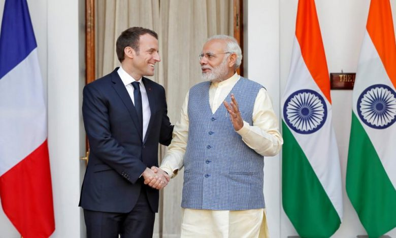 India came out in support of France: slams Turkey, Pakistan for attacks on President Macron