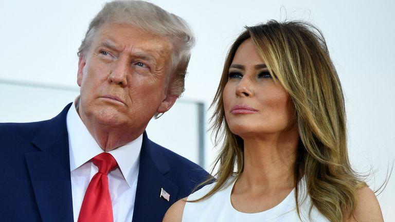 Donald Trump, First Lady Test Corona Positive: Gone Into Quarantine