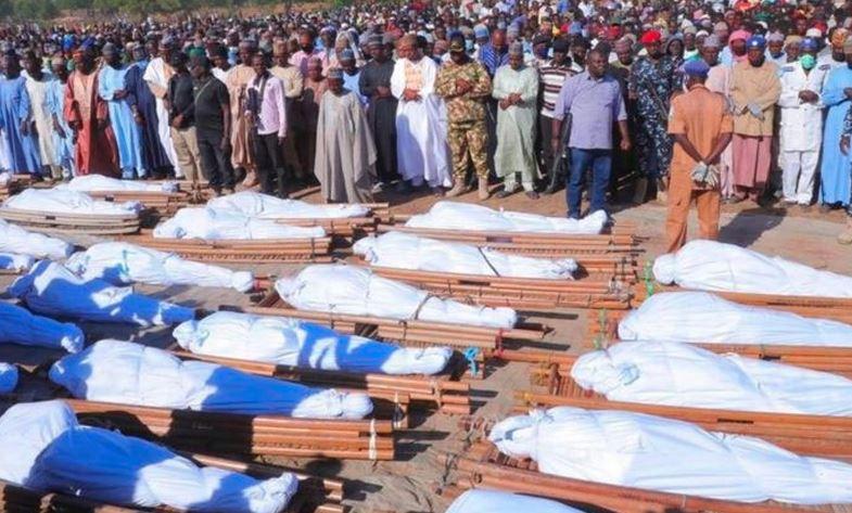 દુનિયામાં ફરી એકવાર આતંકનો કાળો ચહેરો દેખાયો, નાઈજીરિયામાં 110 વ્યક્તિઓની હત્યા