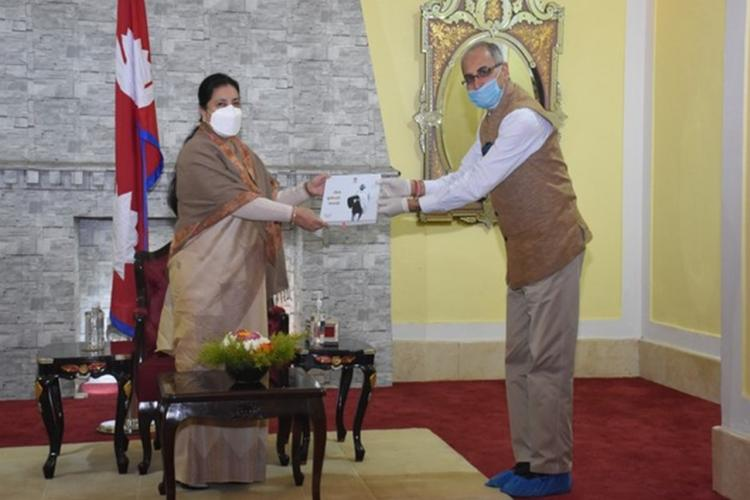 SAARC Diary: Nepal Release Pictorial Anthology in Nepali on Mahatma Gandhi