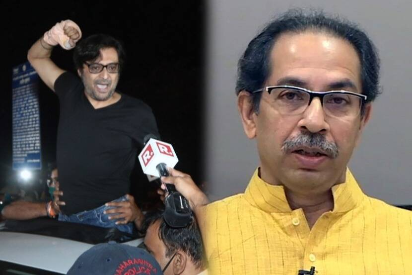 """Arnab Goswami Says his Release was """"Victory of the People of India,"""" Threaten Uddhav Thackeray"""