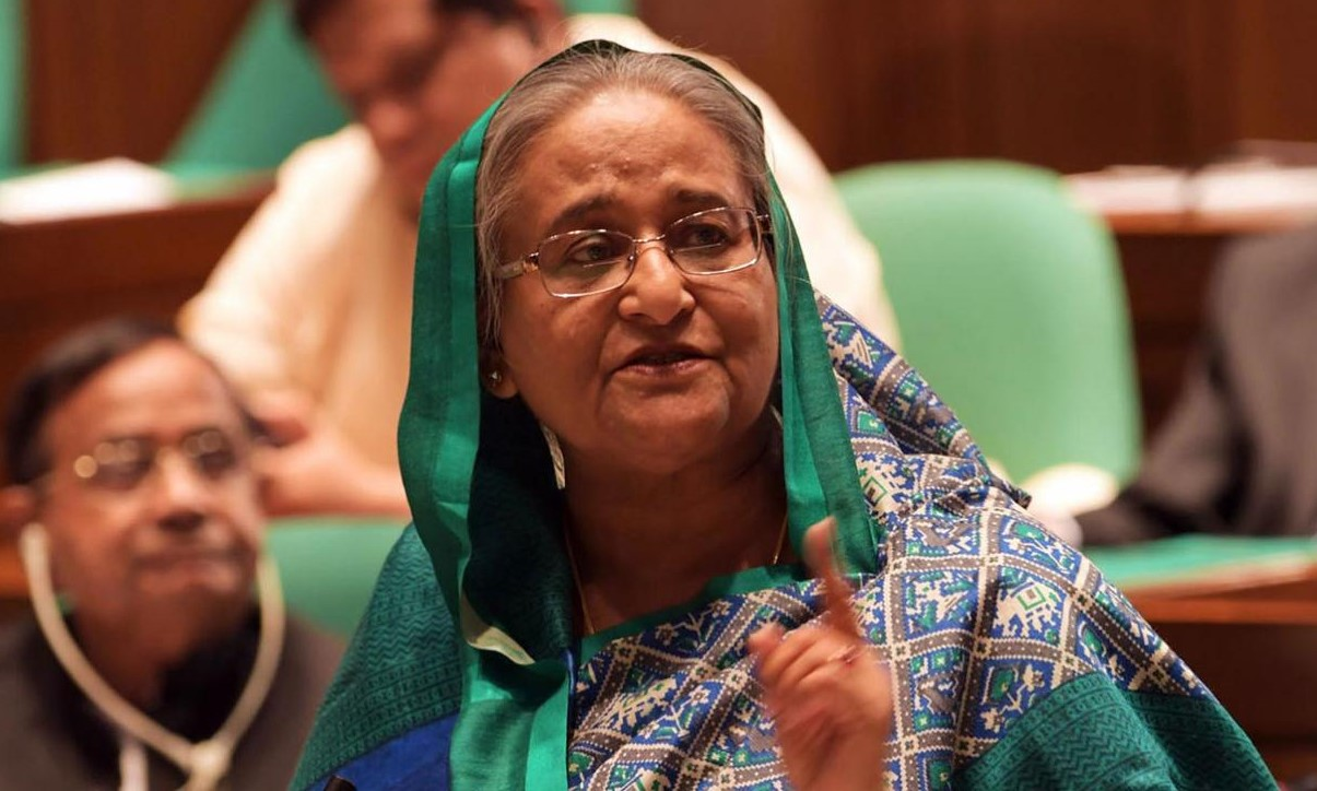 Sheikh-Hasina-in-Parliament-LOOKEAST