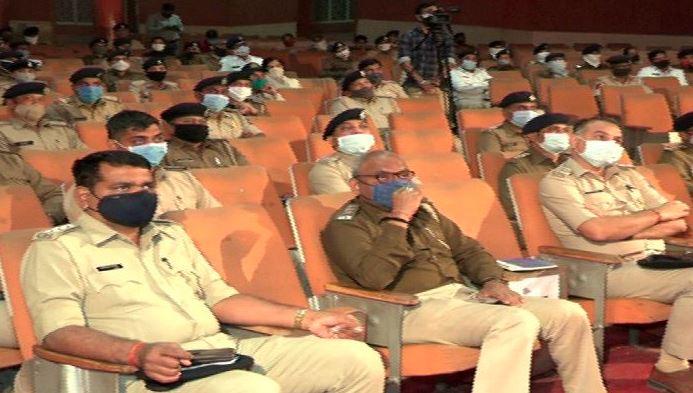 અમદાવાદ મ્યુનિસિપલ કોર્પોરેશન ચૂંટણીઃ ટ્રાફિક પોલીસને ચૂંટણીલક્ષી તાલીમ અપાઈ