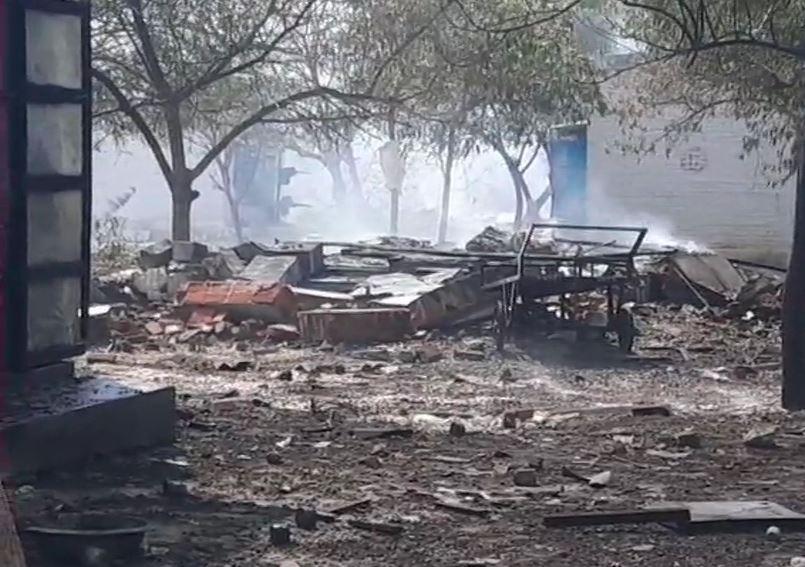 તમિલનાડુમાં ફટાકડાની ફેકટરીમાં આગઃ 9 વ્યક્તિઓના મોત