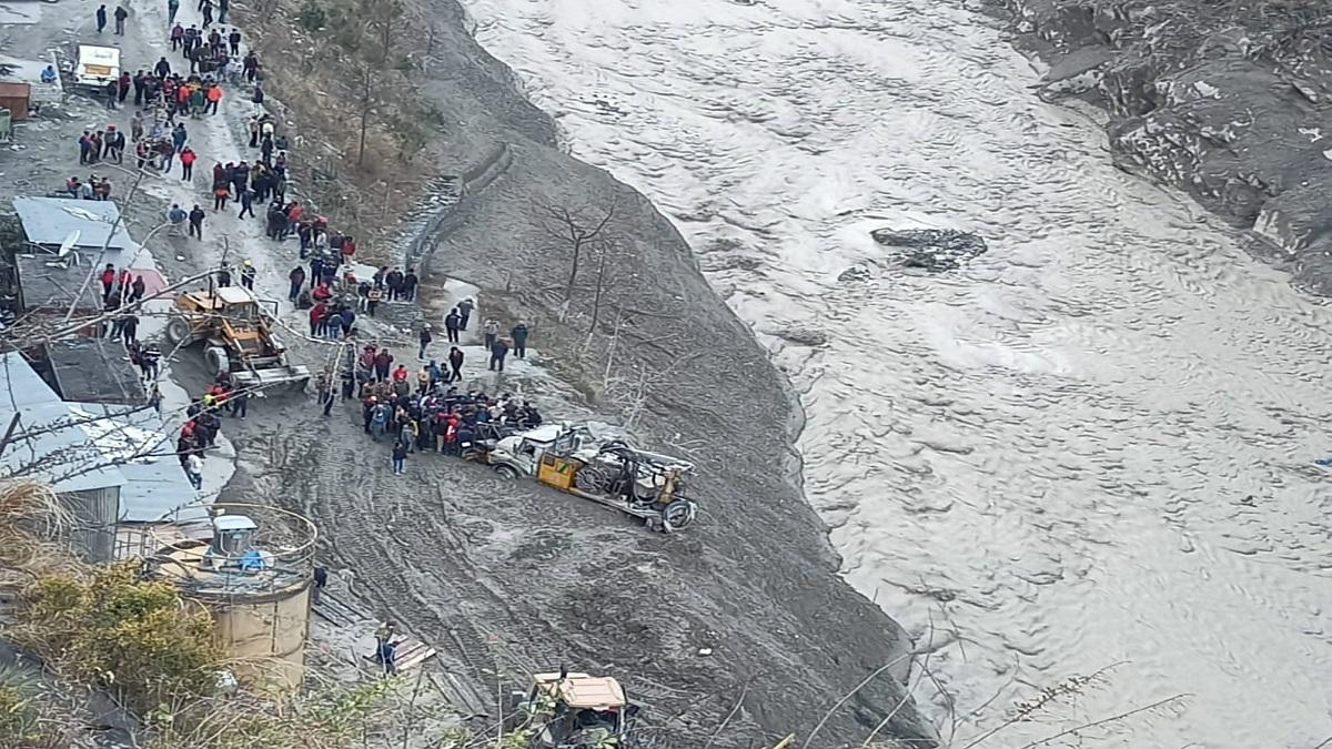 Glacier burst: Dhauliganga hydropower project damaged