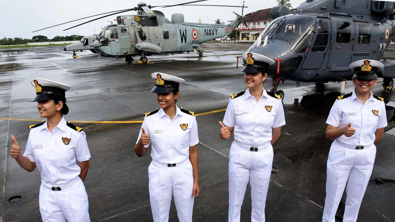 Women in Defence: Indian Navy deploys four women officers on warships after 23 years
