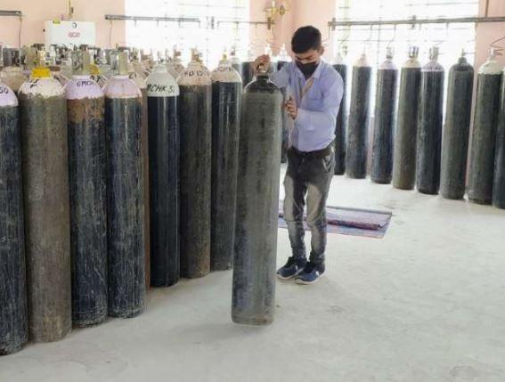 Oxgen cylinder