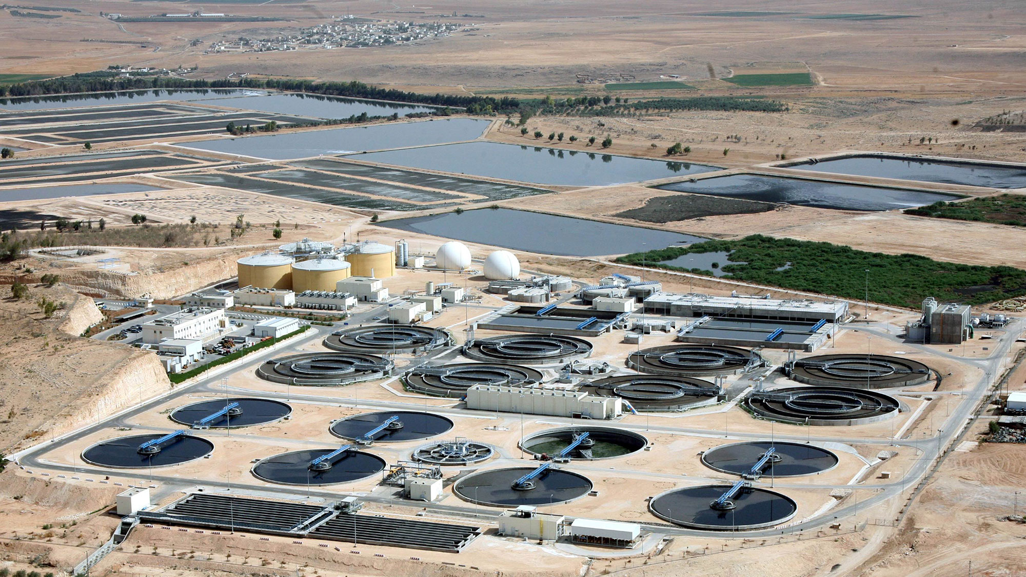 Wastewater plant AsSamra