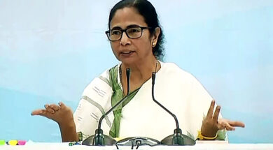 West Bengal CM Mamata Banerjee addresses during a meeting