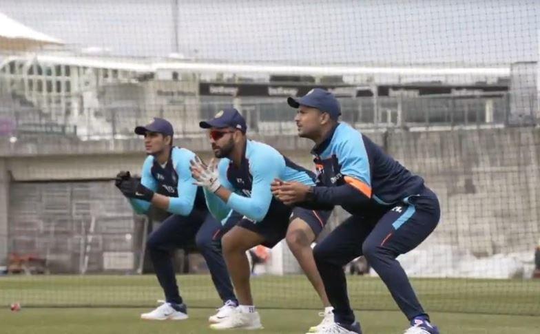 WTC ફાઈનલઃ ભારતીય ક્રિકટ ટીમે પહેલી ગ્રુપ ટ્રેનિંગમાં લીધો ભાર