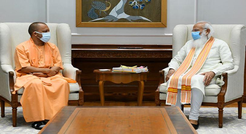 यूपी के मुख्यमंत्री योगी आदित्यनाथ बोले – पीएम मोदी और राष्ट्रीय अध्यक्ष नड्डा से शिष्चाचार भेंट की