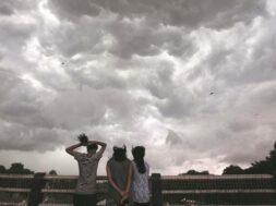 Overcast clouds in Gujarat