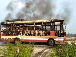 st bus fire
